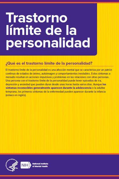 Recursos Para Trastornos de la Personalidad